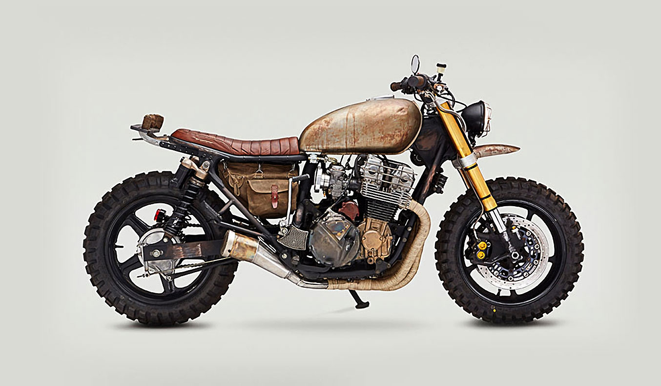 WALKING DEAD: DARYL DIXON'S CLASSIFIED MOTO MOTORCYCLE