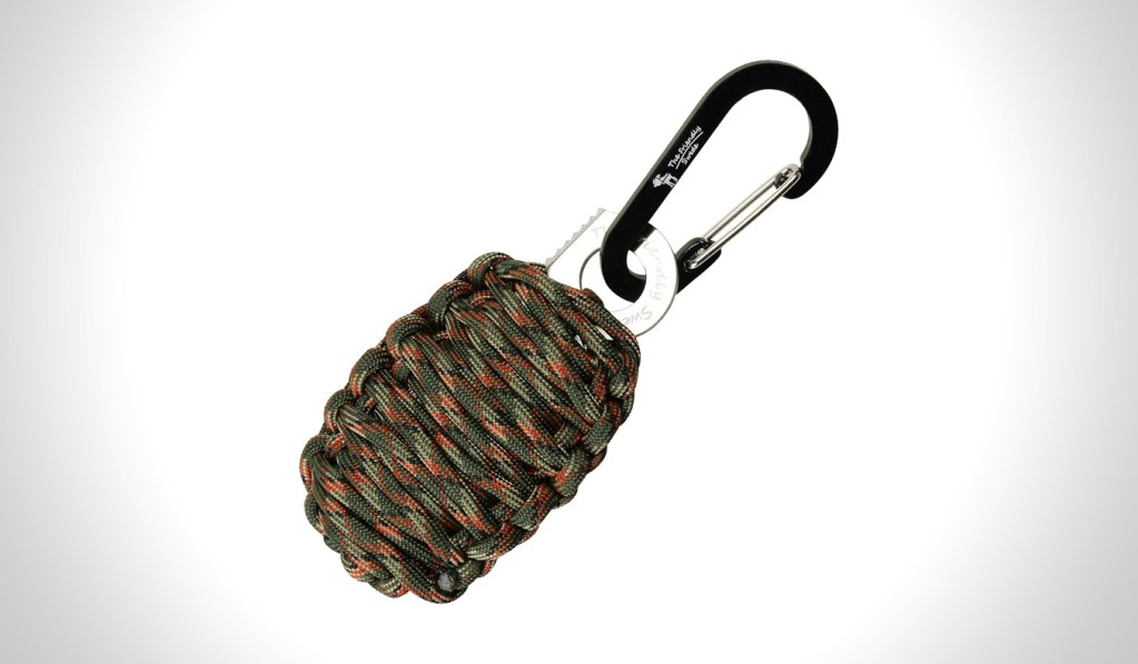 FRIENDLY SWEDE CARABINER GRENADE SURVIVAL KIT