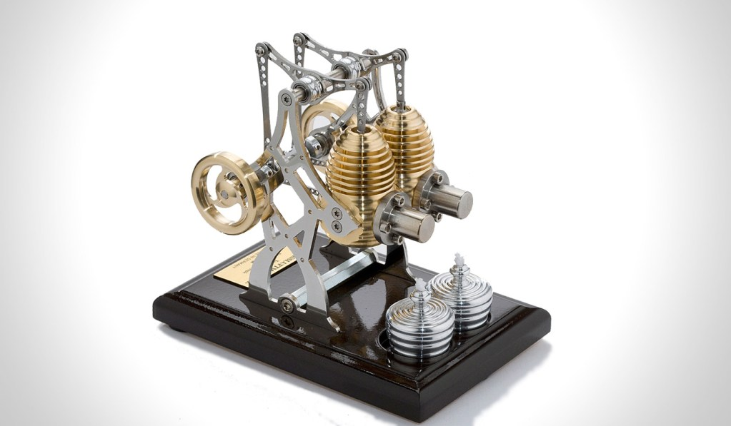 HB26 TWIN BRIDGE STIRLING ENGINE KIT