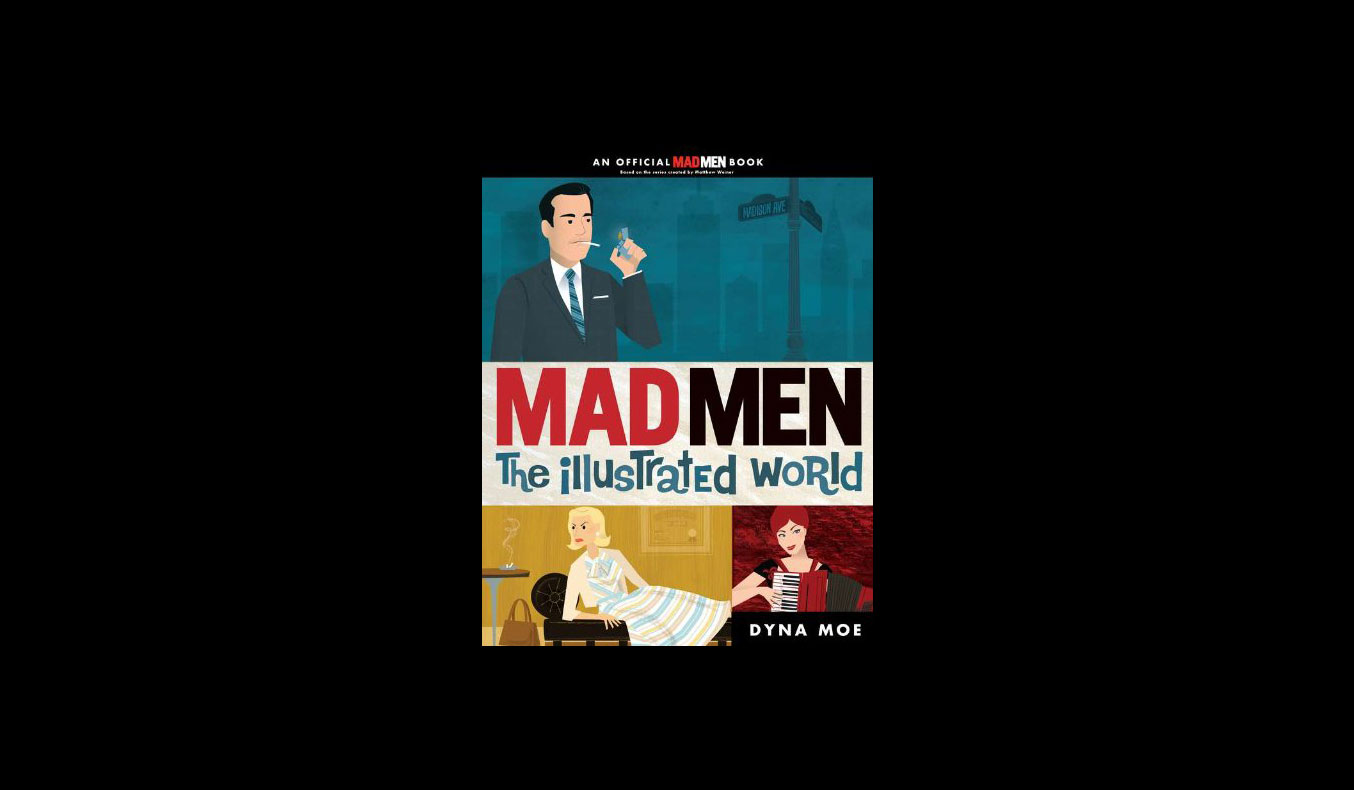 mad men: the illustrated world | #mutedbooks
