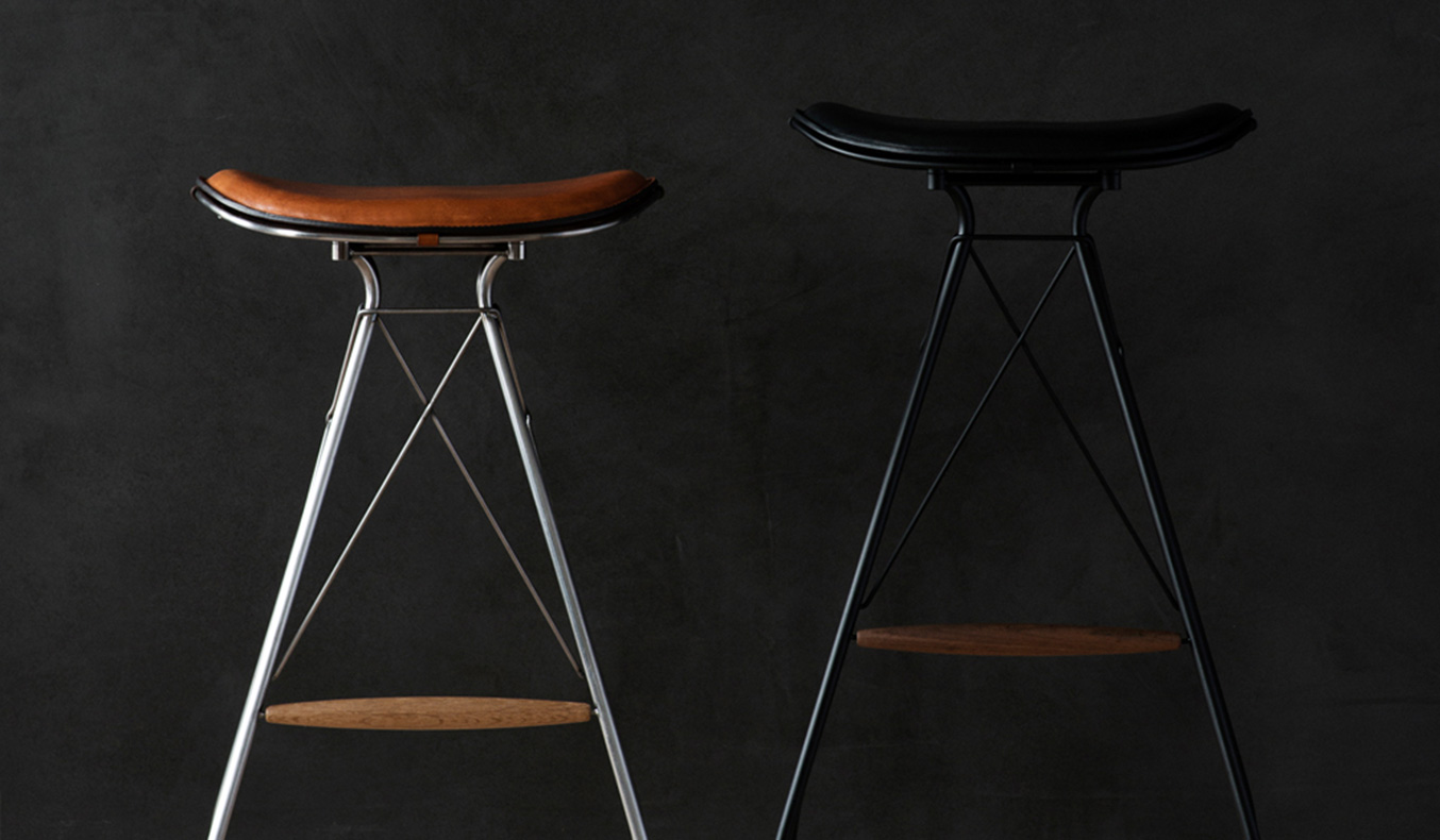 OVERGAARD & DYRMAN WIRE BAR STOOL