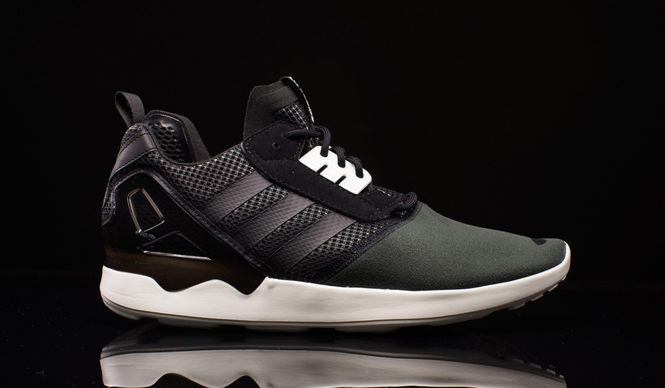 low priced 744ff 9d9b0 ADIDAS ZX-8000 BOOST SHOES CORE BLACK