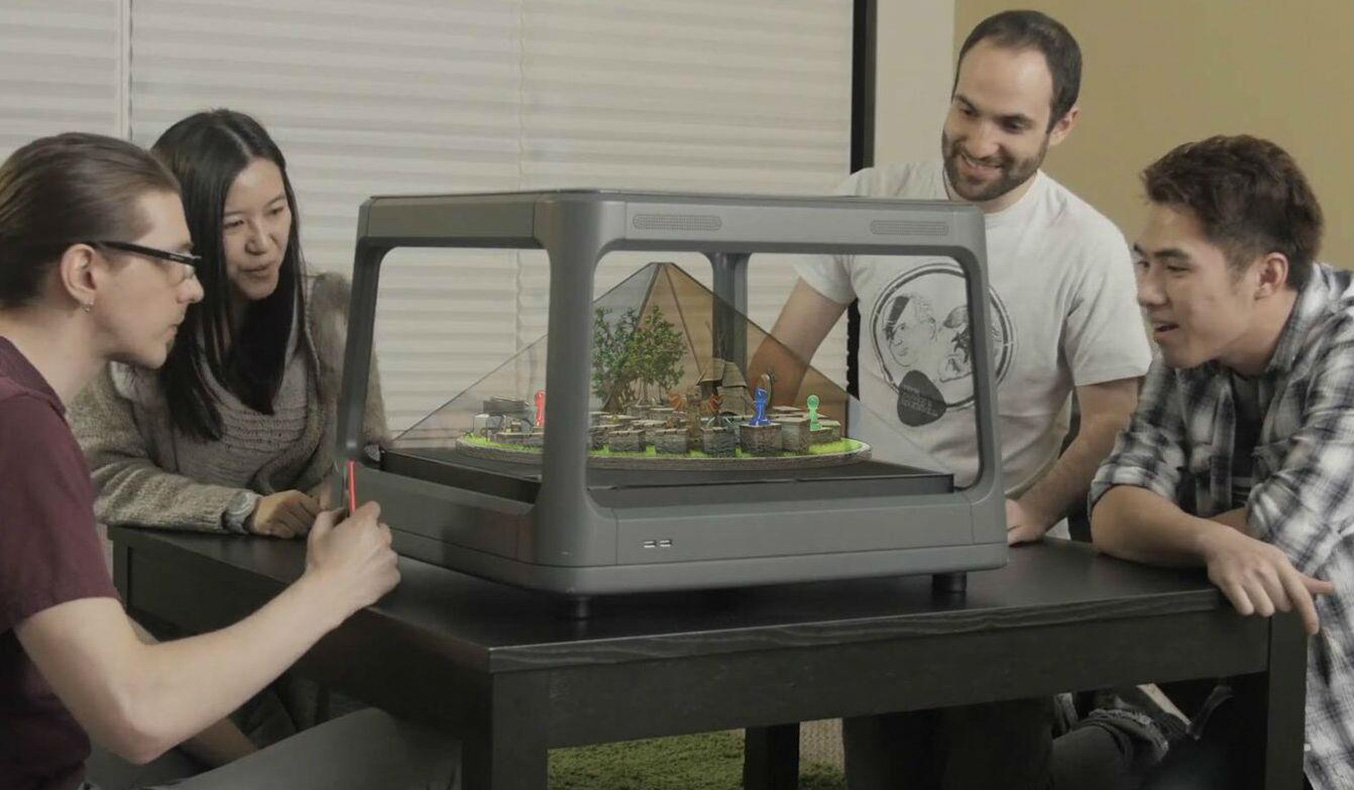 HOLUS: TABLETOP HOLOGRAPHIC DISPLAY