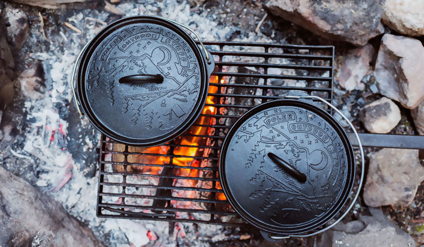 THE POLER CAST IRON DUTCH OVEN