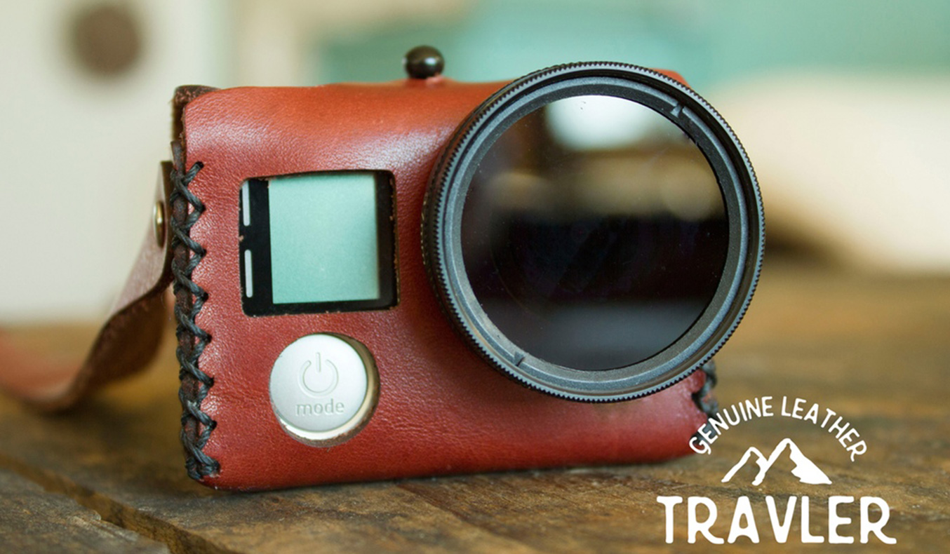 TRAVELER CAMERA CASE FOR GOPRO