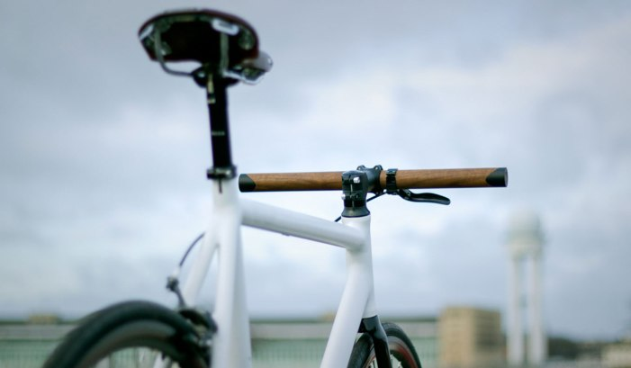 LENKR V1 WALNUT BIKE HANDLES