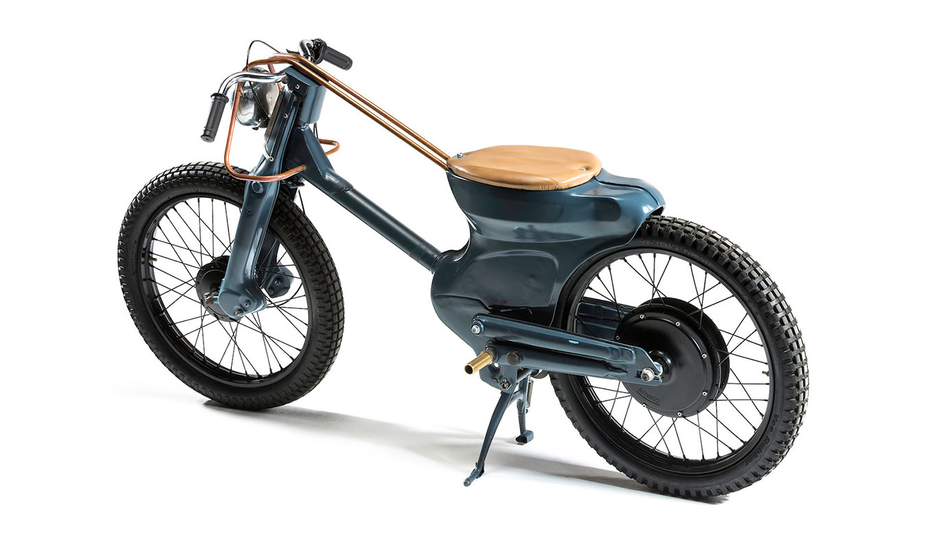 DEUS ELECTRIC MOTORCYCLE