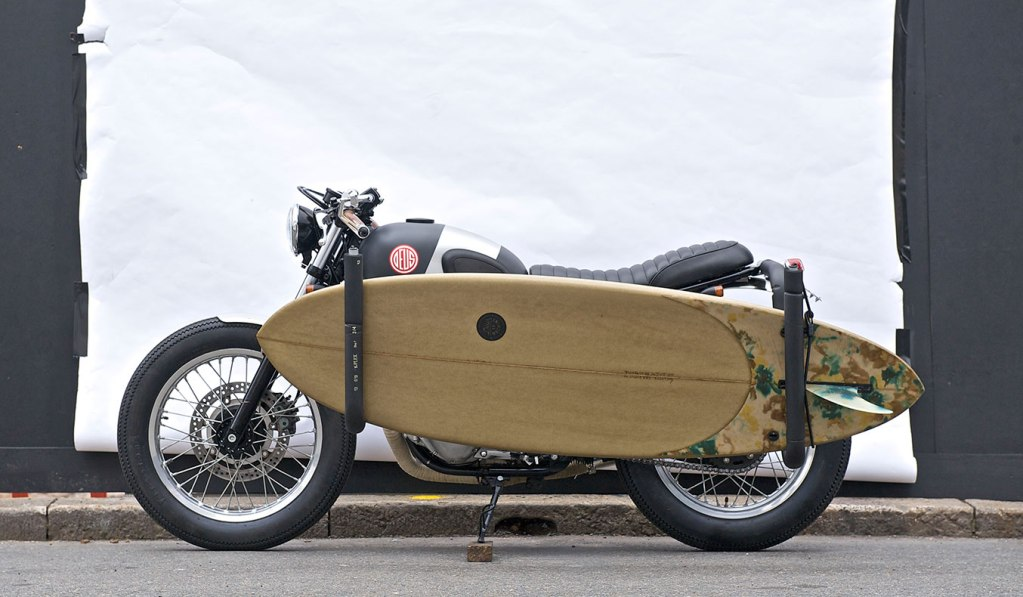 RED PILL MOTORCYCLE BY DEUS EX MACHINA