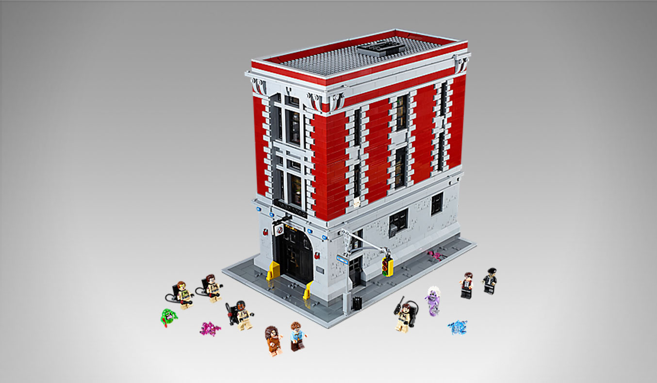 LEGO GHOSTBUSTERS FIREHOUSE HQ