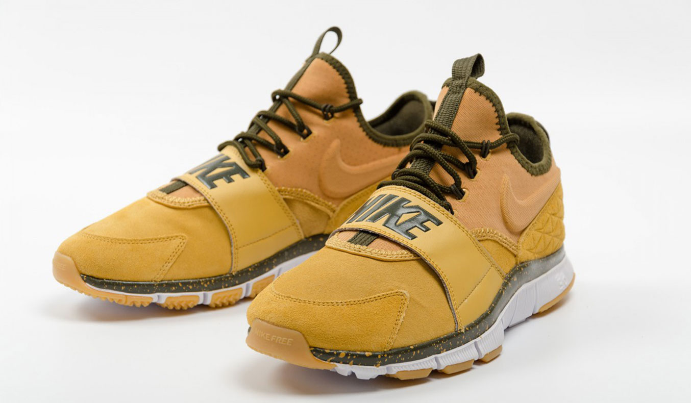 "NIKE FREE ACE LEATHER ""HAYSTACK"""