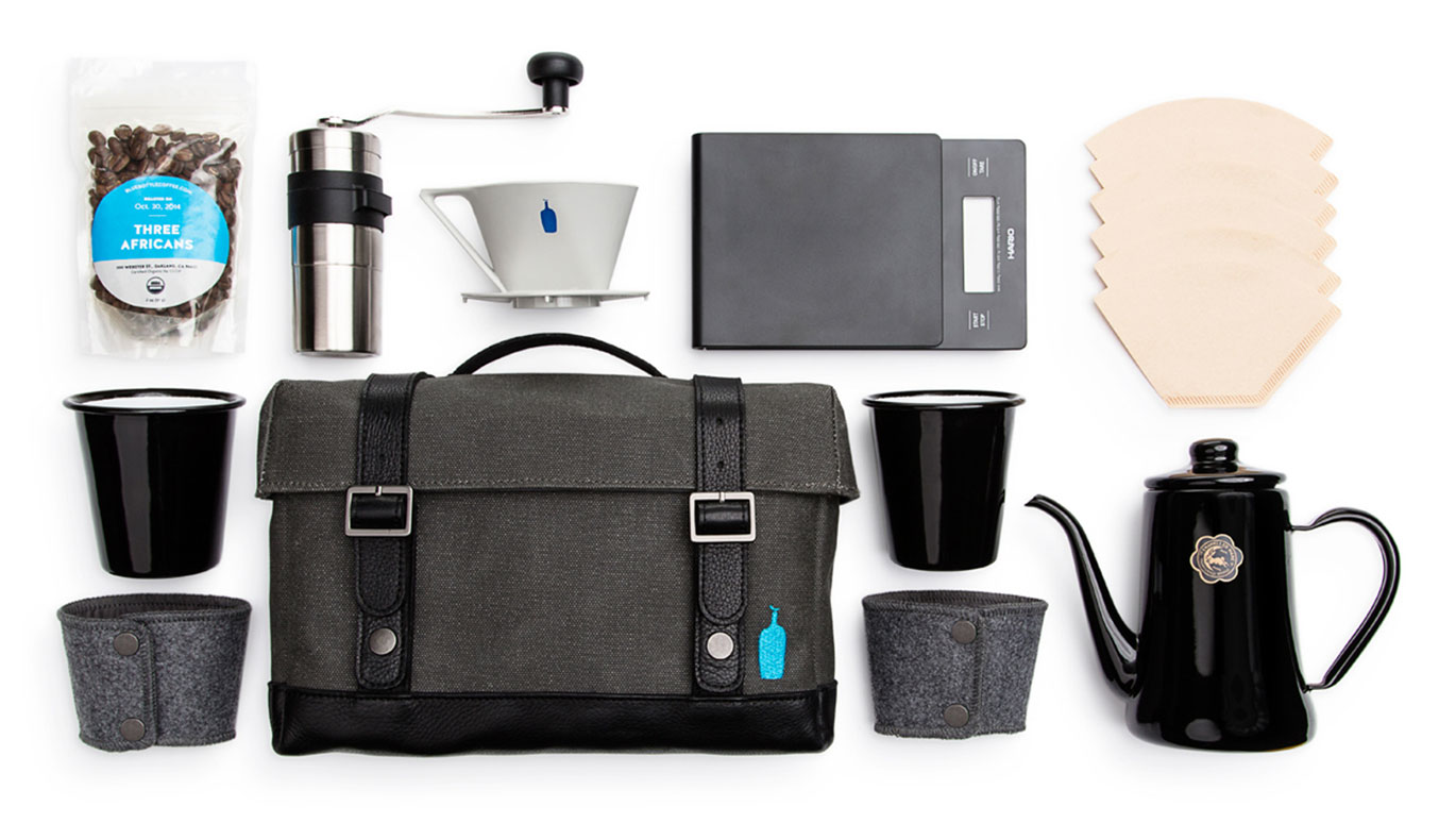 TIMBUK2 BLUE BOTTLE'S SABBATICAL TRAVEL KIT