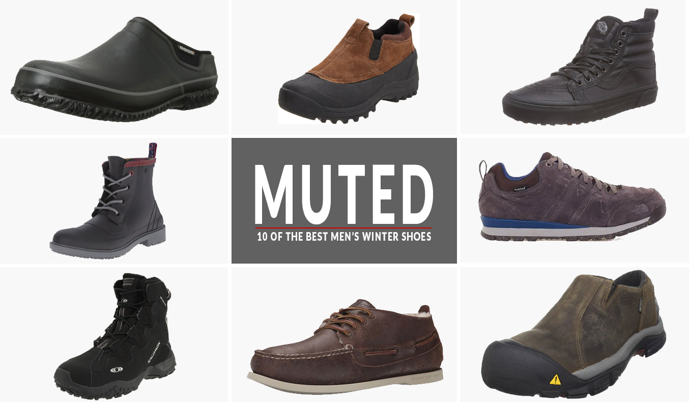 12 of the Best Winter Shoes for Men Perfect for Snow, Ice and Mud