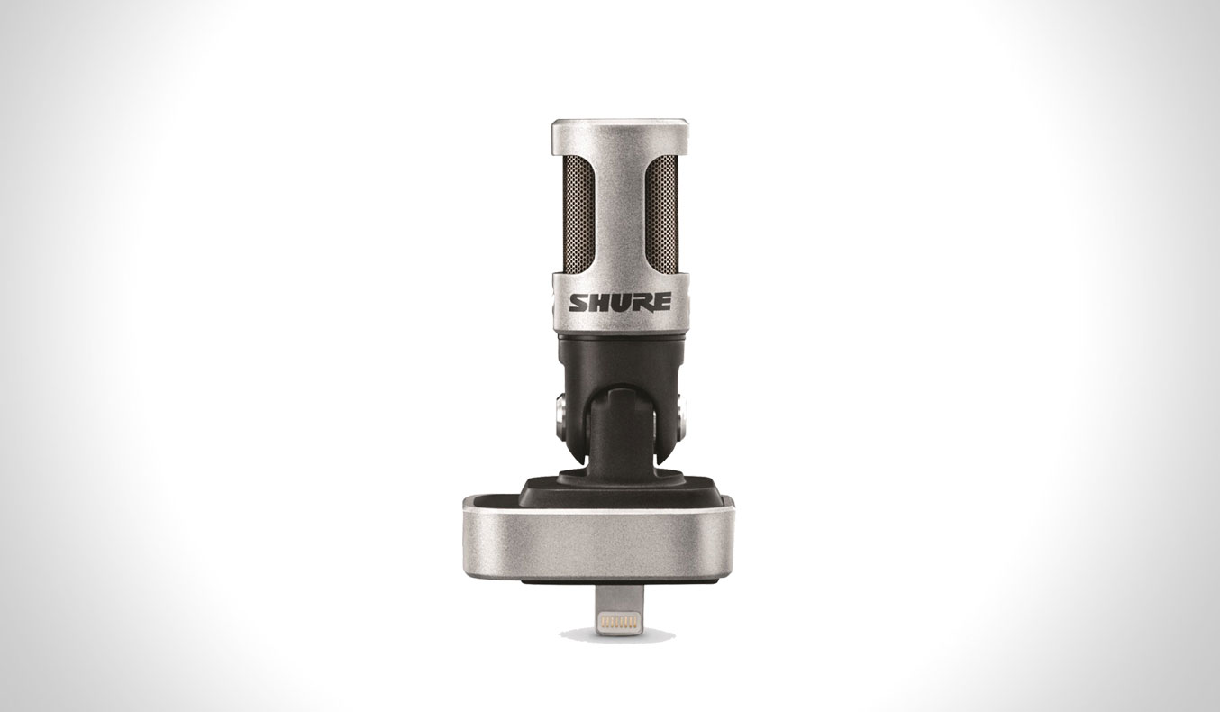 SHURE MV88 IOS MICROPHONE