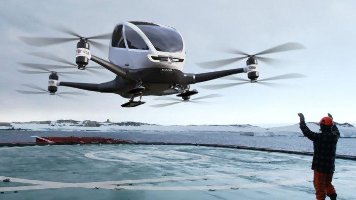 EHANG 184 AUTONOMOUS DRONE