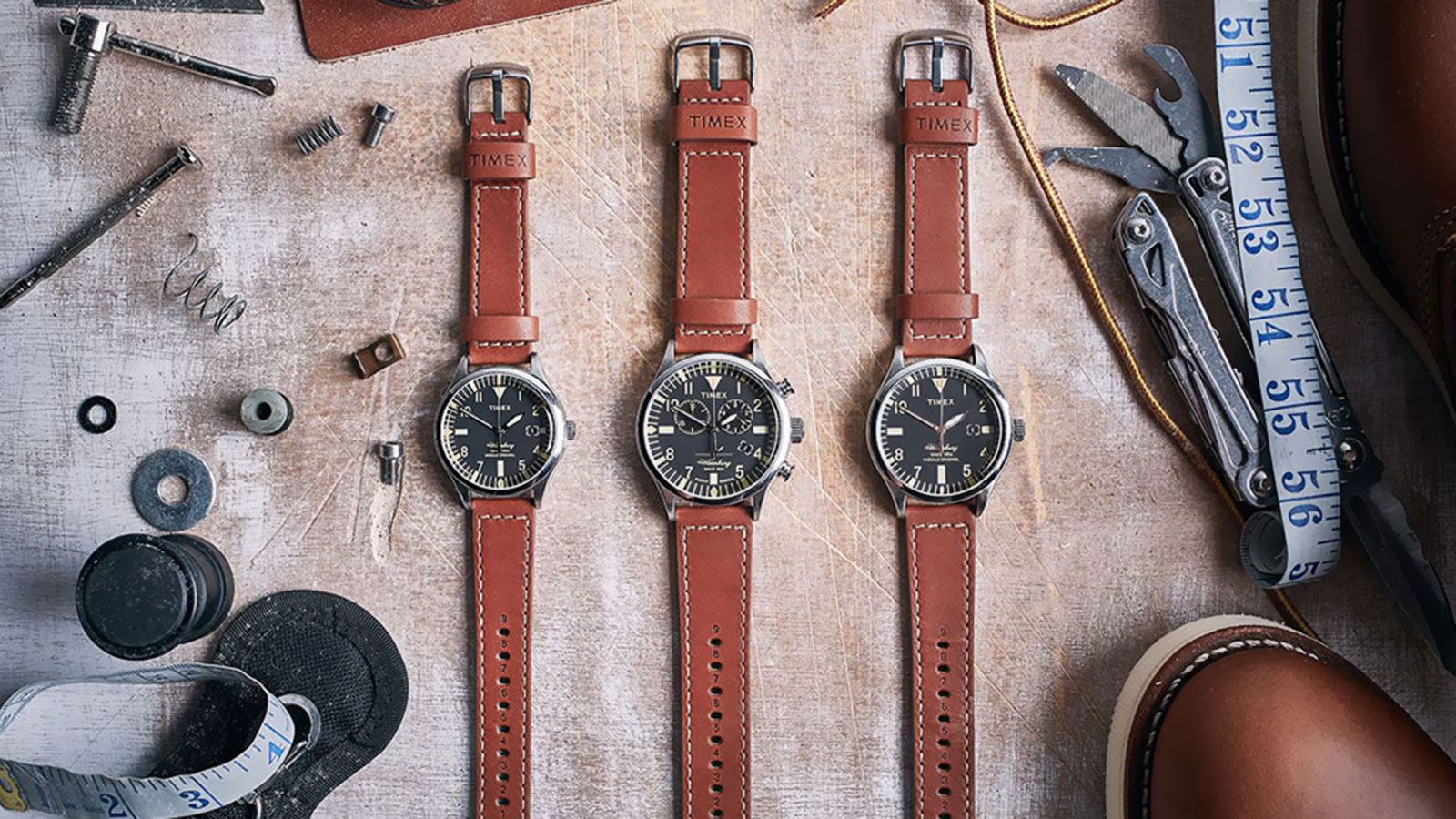 TIMEX X RED WING WATERBURY WATCH COLLECTION