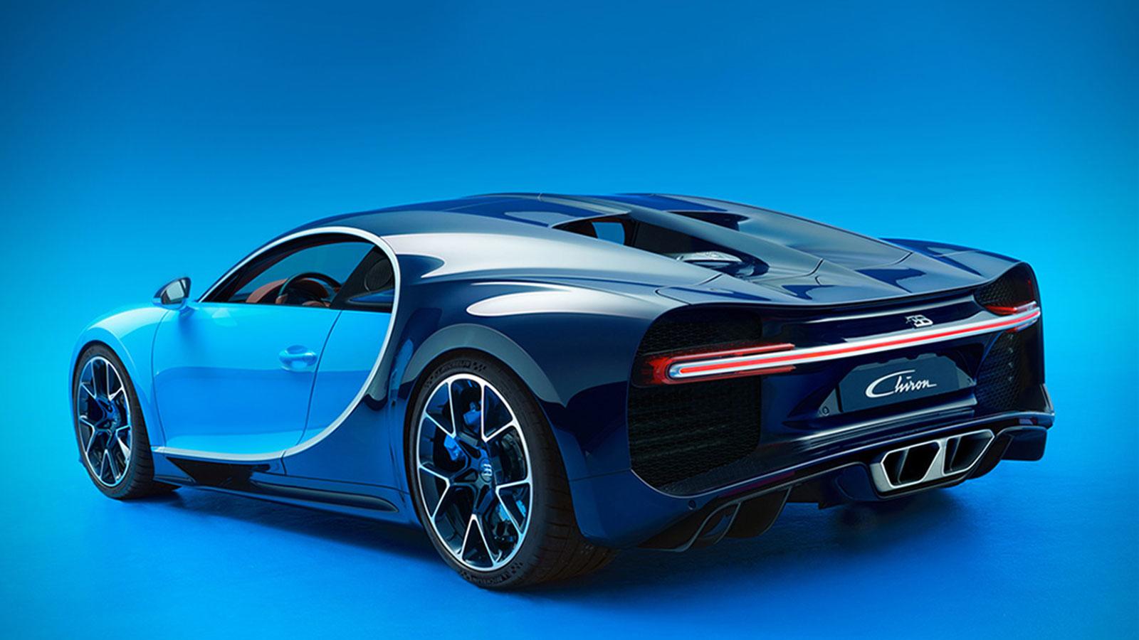GENEVA AUTO SHOW: 2017 BUGATTI CHIRON