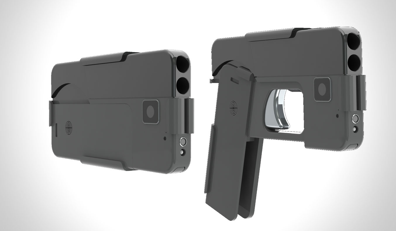 IDEAL CONCEAL DOUBLE BARREL SMARTPHONE PISTOL