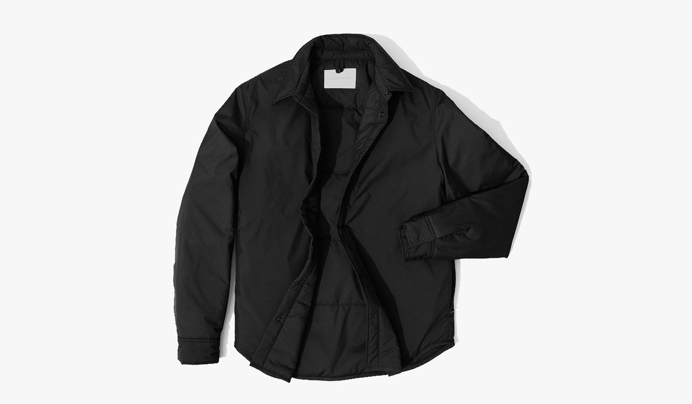 EVERLANE FILLED SHIRT SPRING JACKET