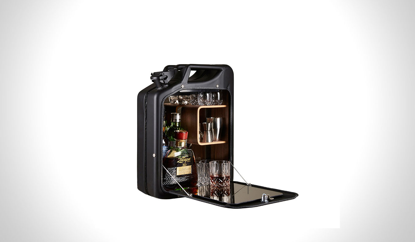 JERRY CAN BAR CABINET