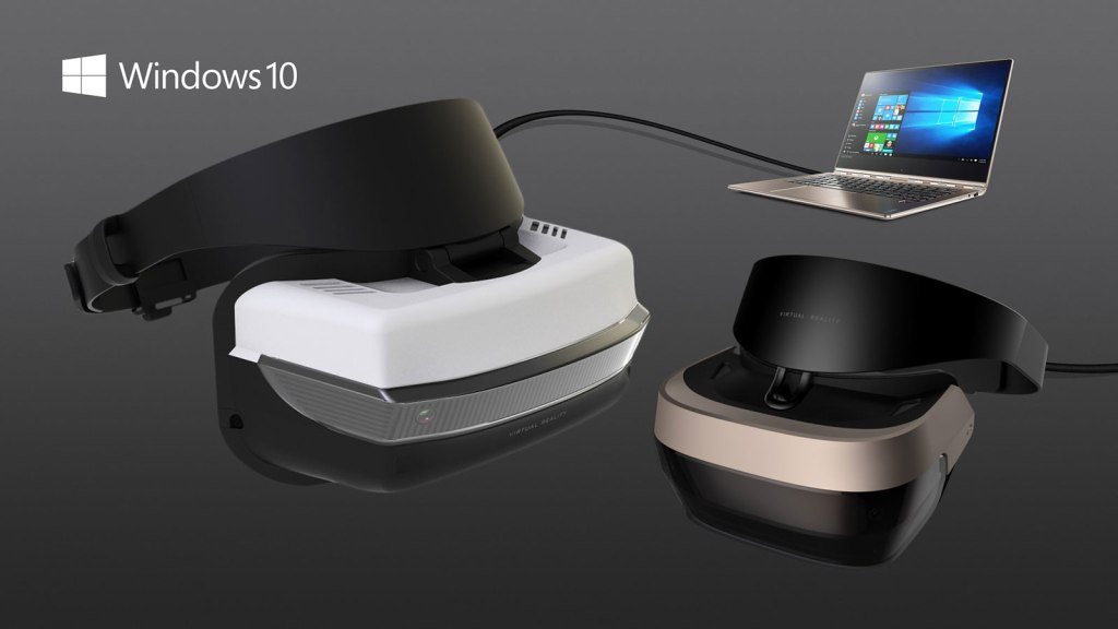 MICROSOFT PARTNER VR HEADSETS