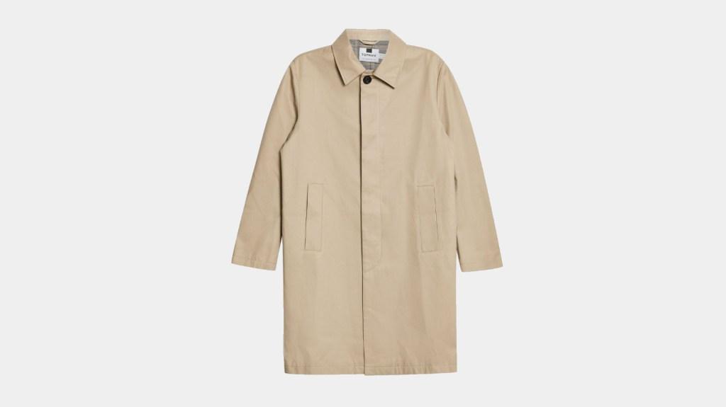 Topman Best Mens Trench Coat
