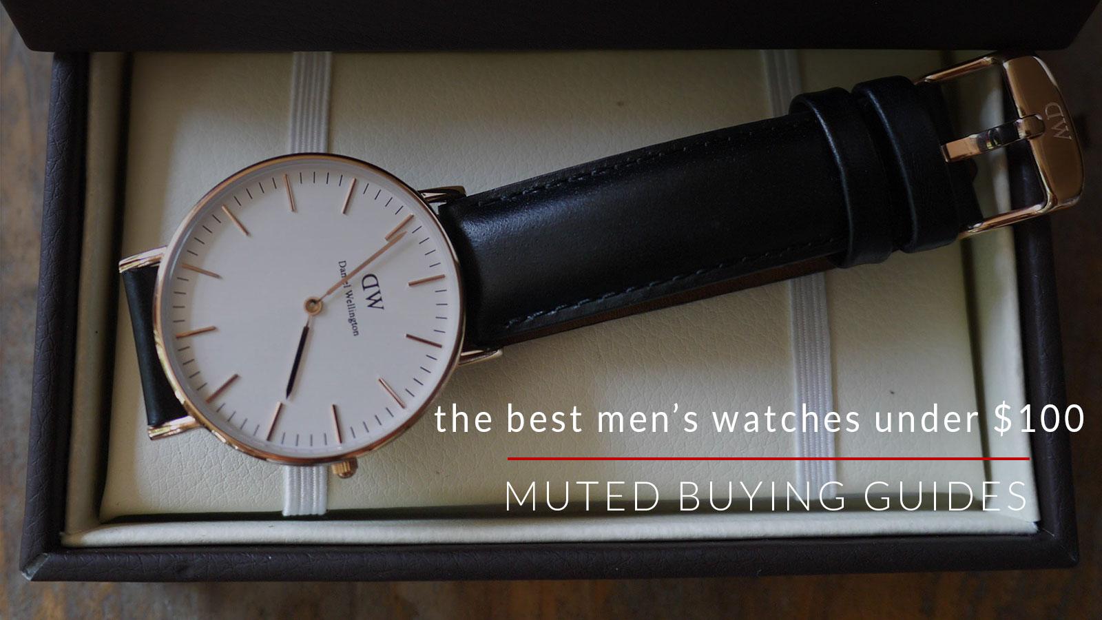 the best mens watches under $100