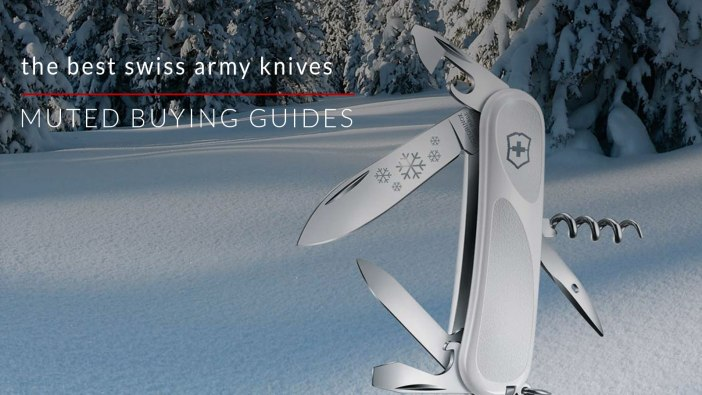 the best swiss army knives for everyday carry