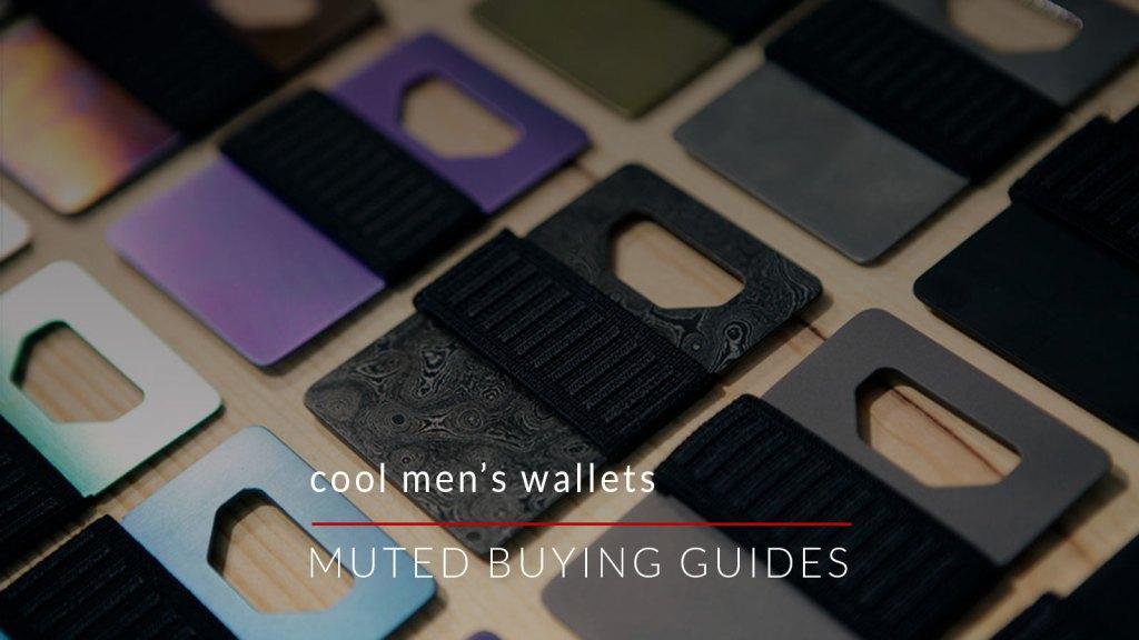 cool mens wallets