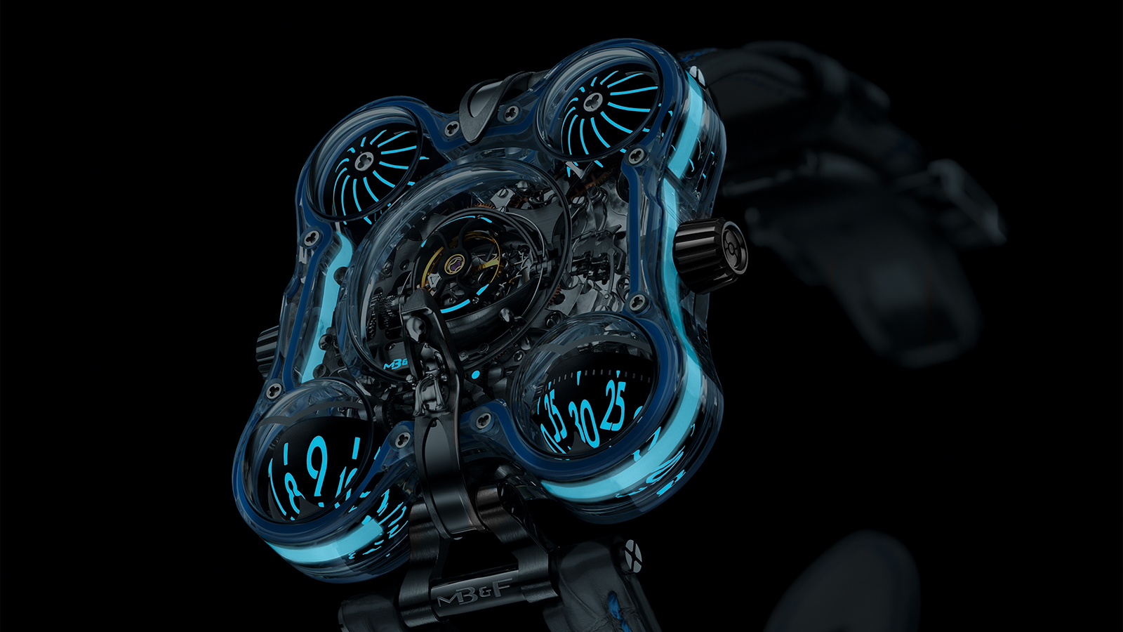 MB&F'S HM6 ALIEN NATION WATCH