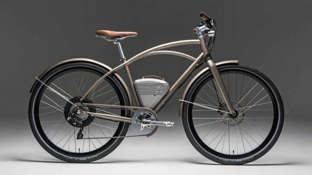 VINTAGE ELECTRIC CAFE - A CLASSIC BIKE WITH A MODERN TWIST