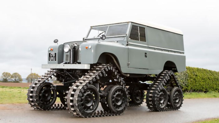 1958 Land Rover 109 Series II