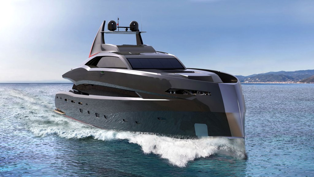 Gotham Project Super Yacht