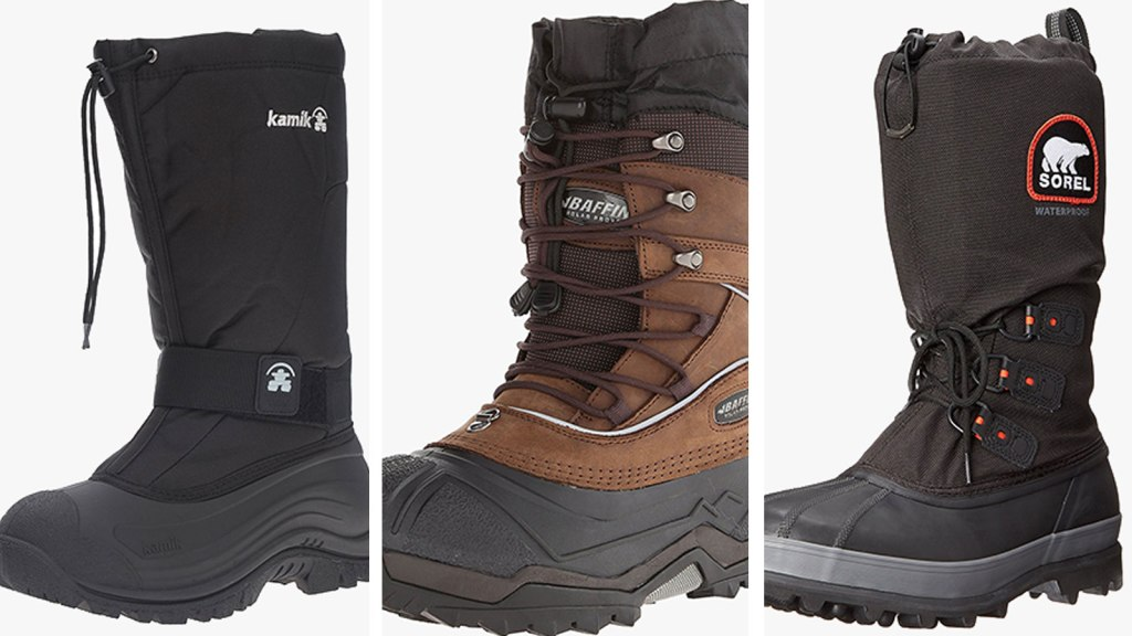 how to find men/man select for authentic Warm And Safe: 7 Best Extreme Cold Weather Boots for Men