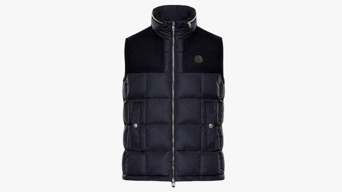best mens winter vests by moncler