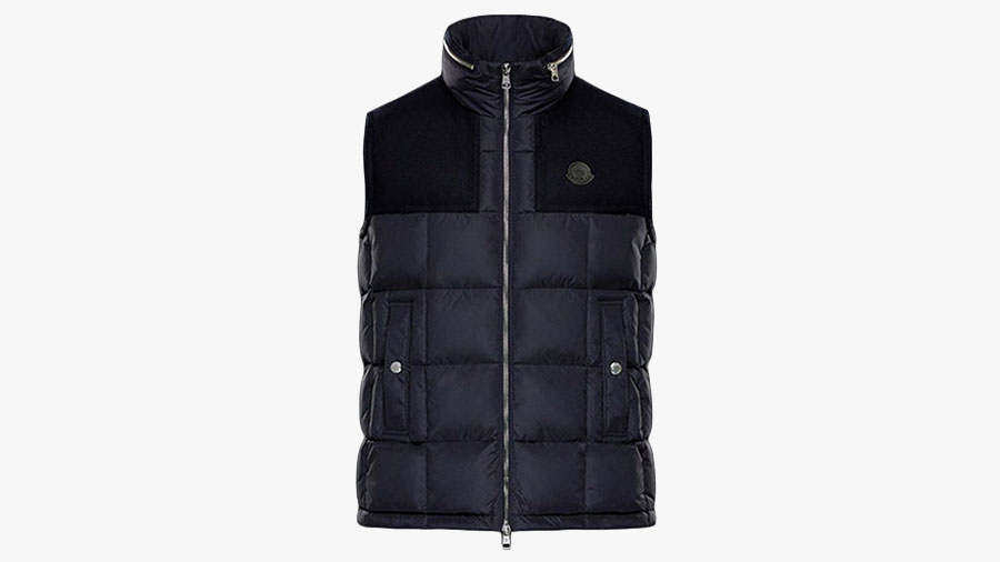 best mens winter vests by moncler