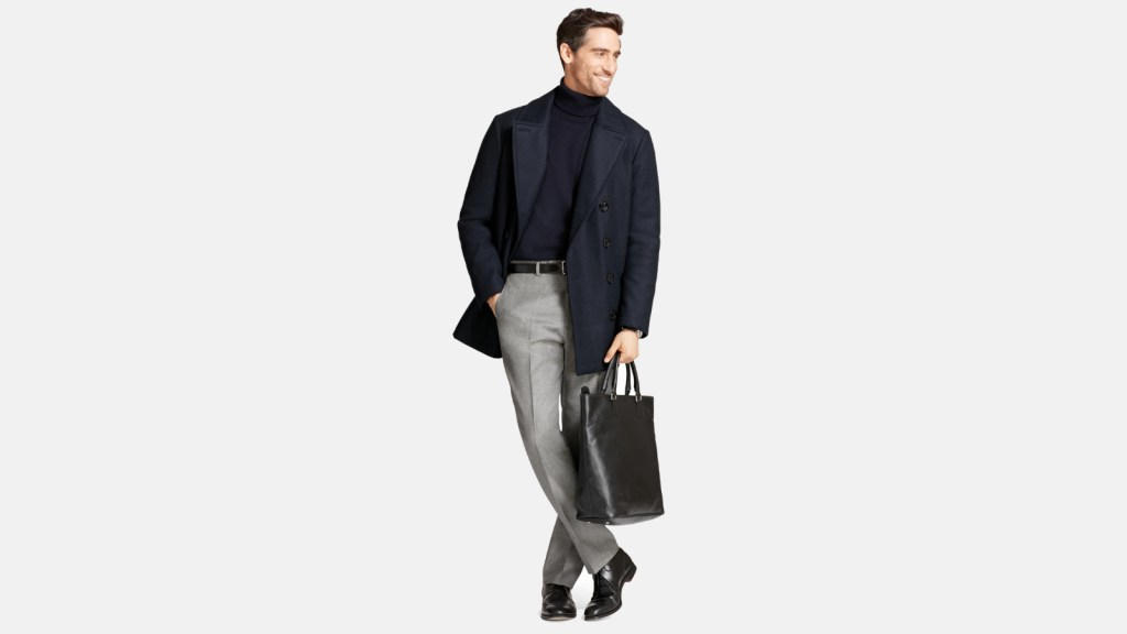 Brooks Brothers Best Pea Coats For Men