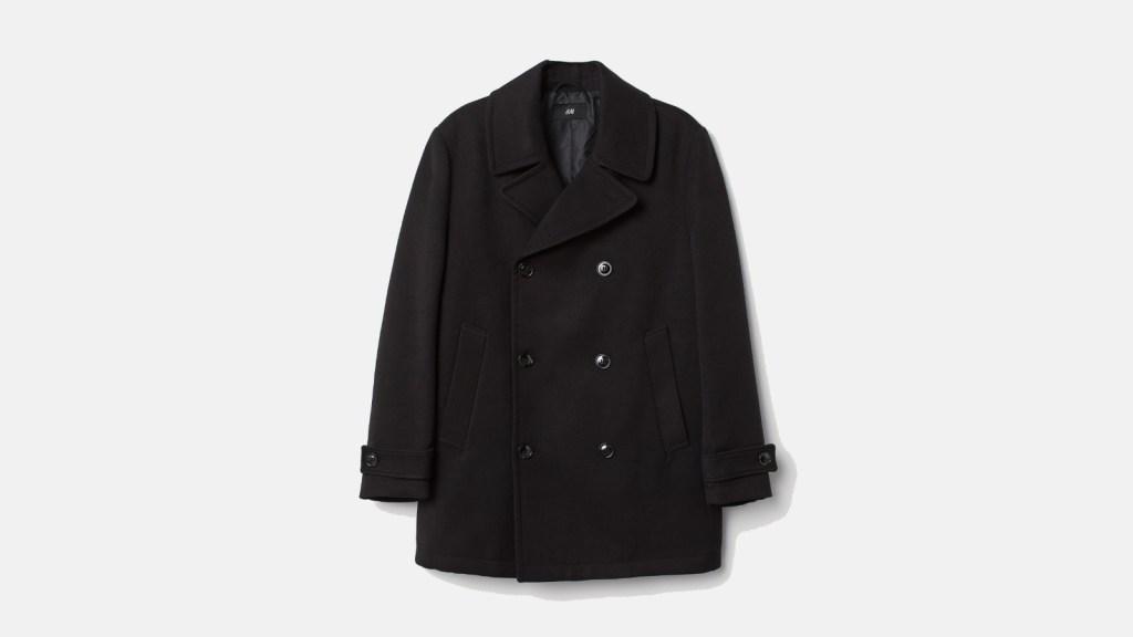 H&M Best Pea Coats For Men