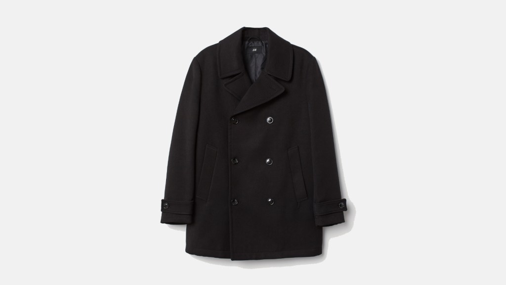 H&M Best Pea Coats For Men