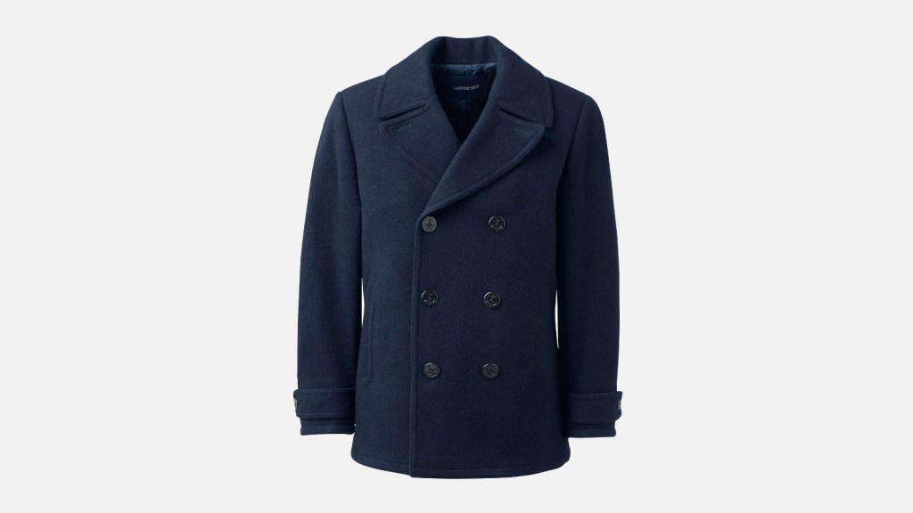 Lands End Best Pea Coats For Men