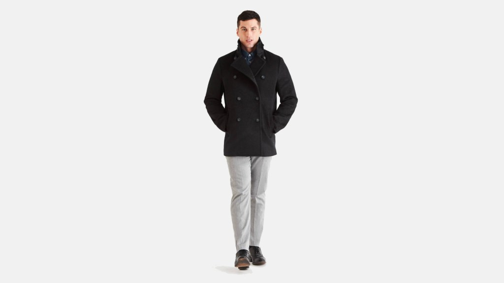 North & Mark Best Pea Coats For Men