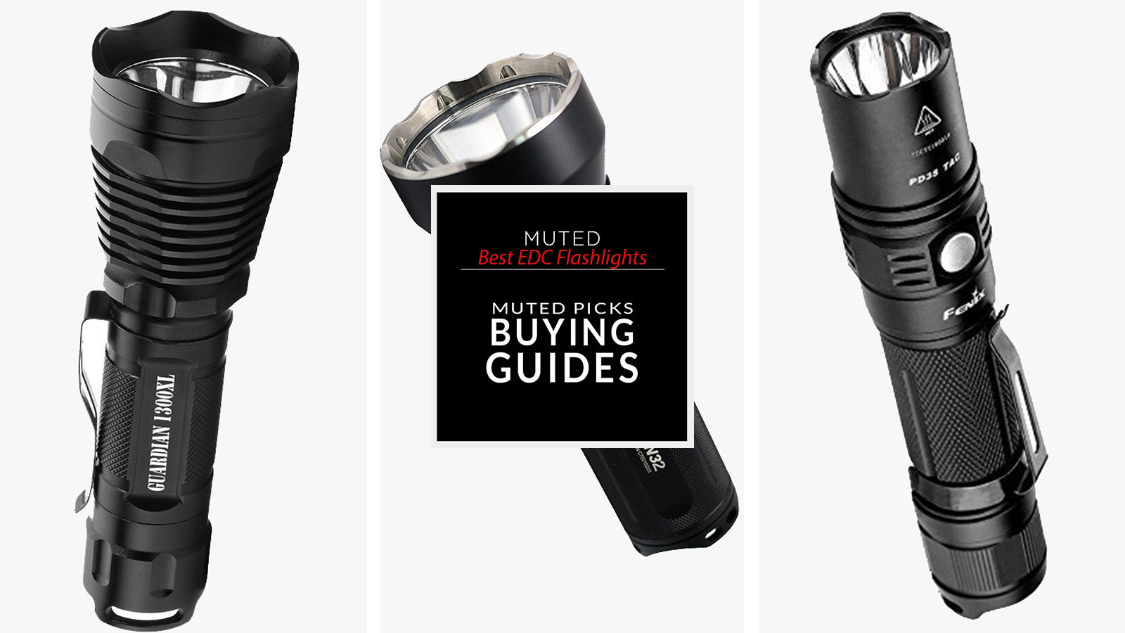 best edc flashlights