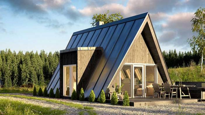 Avrame A-Frame Kit Homes