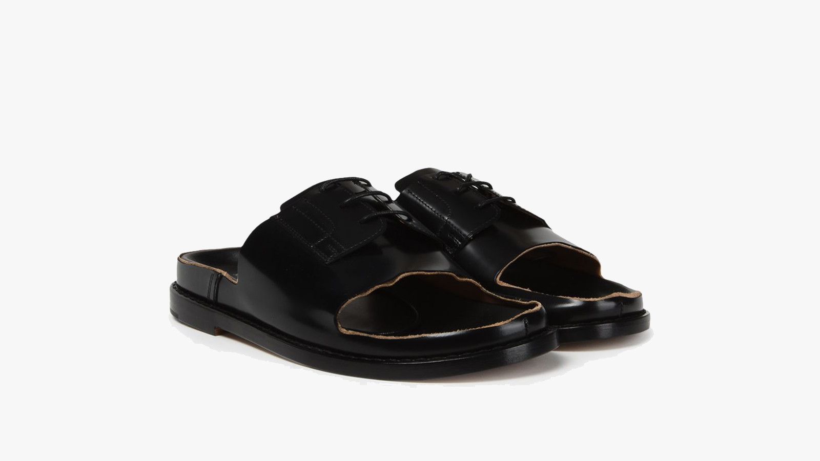Maison Margiela Cut-Out Men's Slides
