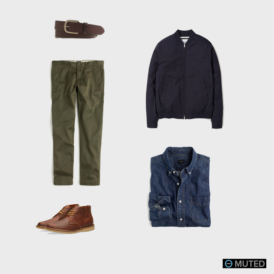 best men's chinos outfit ideas #4