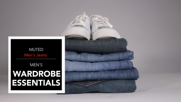 men's wardrobe essentials - best mens jeans