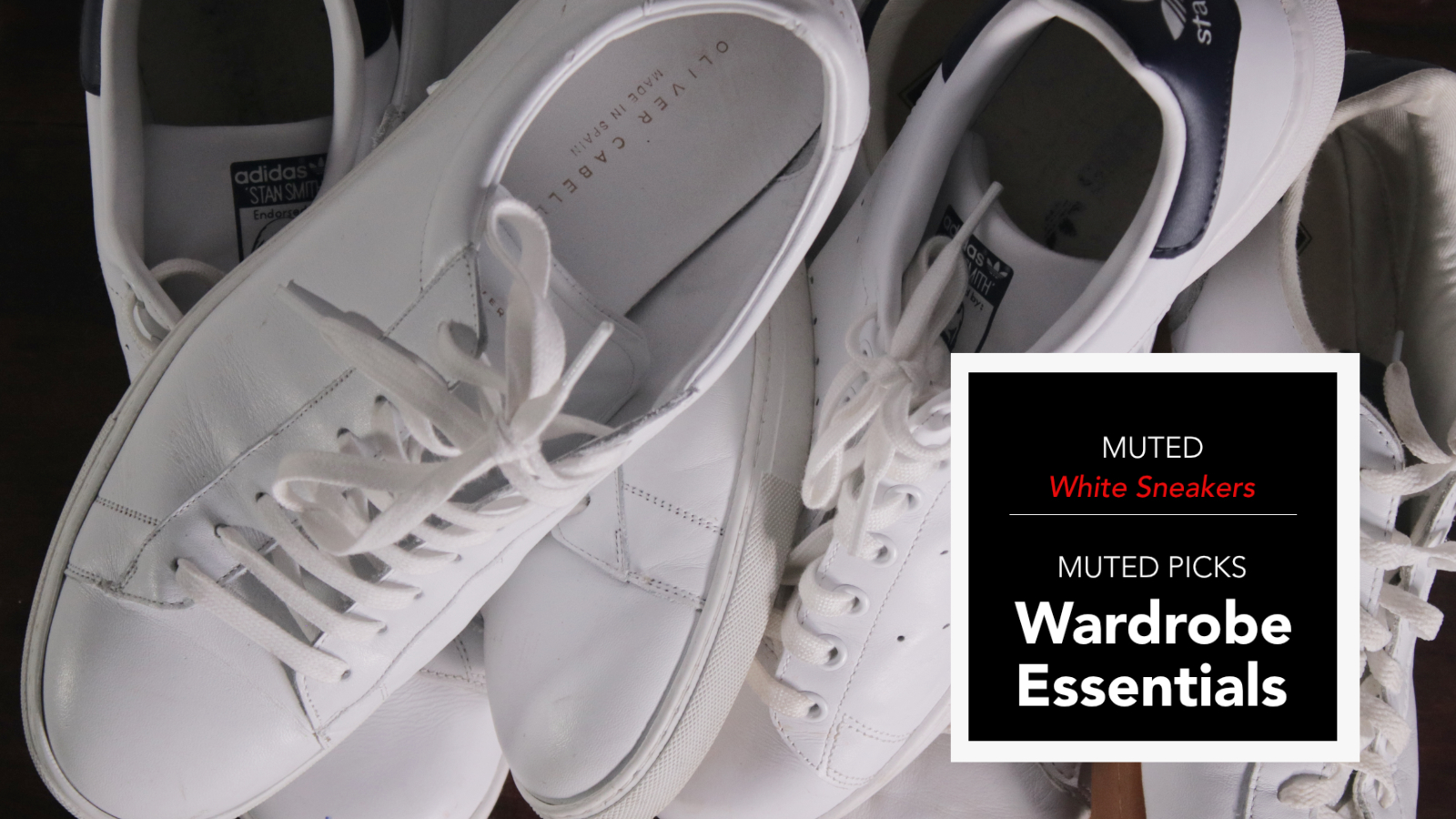 Wardrobe Essentials – Men's White Sneakers
