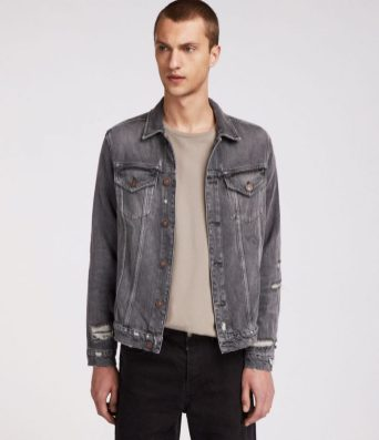 best mens denim jackets - All Saints Beltar Denim Jacket