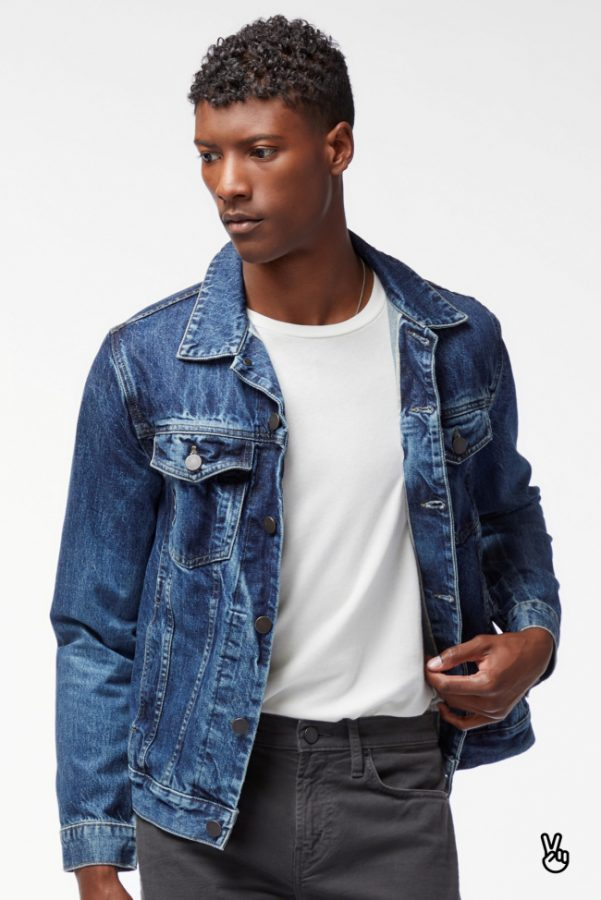 best mens denim jackets - J Brand Jeans Noah Denim Jacket