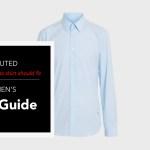 How a dress shirt should fit.