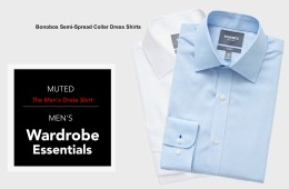 mens wardrobe essentials - the dress shirt